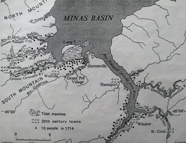 Minas Basin Map II (Small)